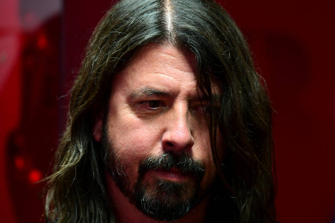 Dave Grohl at the BRIT Awards 2018