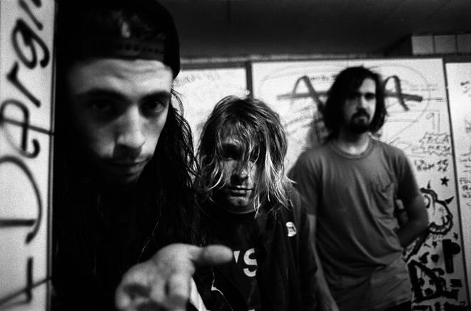 Nirvana in Frankfurt on 12 November 1991.
