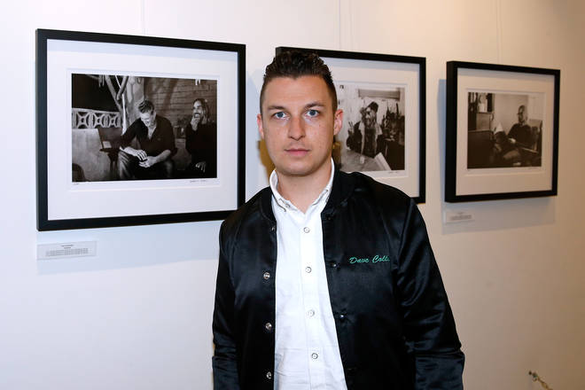 Arctic Monkeys' Matt Helders at Iggy Pop 'Post Depression' Art Pictures Exhibition At French Paper Gallery In Paris