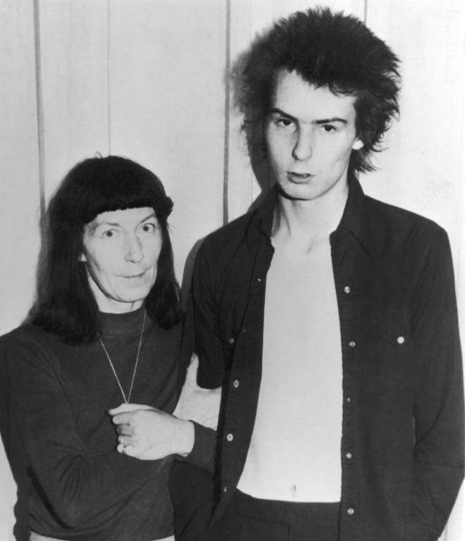 Sid Vicious and his mother Anne Beverley