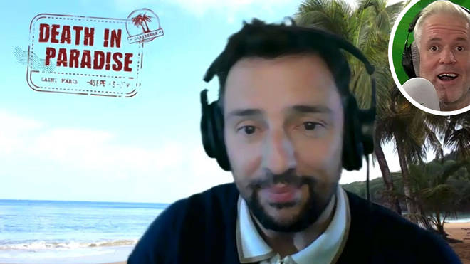 Ralf Little talks the Death in Paradise effect on The Chris Moyles Show