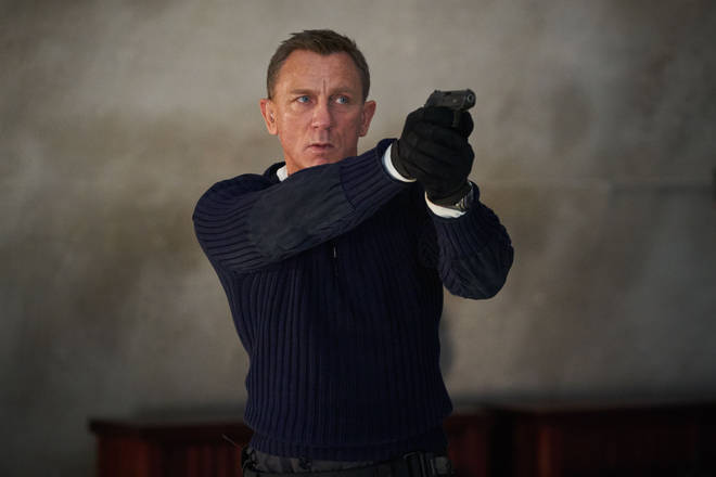 Daniel Craig as James Bond in No Time To Die, due for release in October 2021