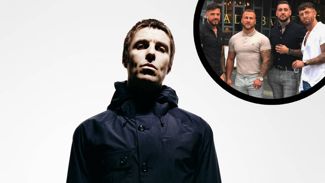 Liam Gallagher reacts to Four lads in jeans meme