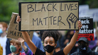 Black Lives Matter protests in London, August 2020