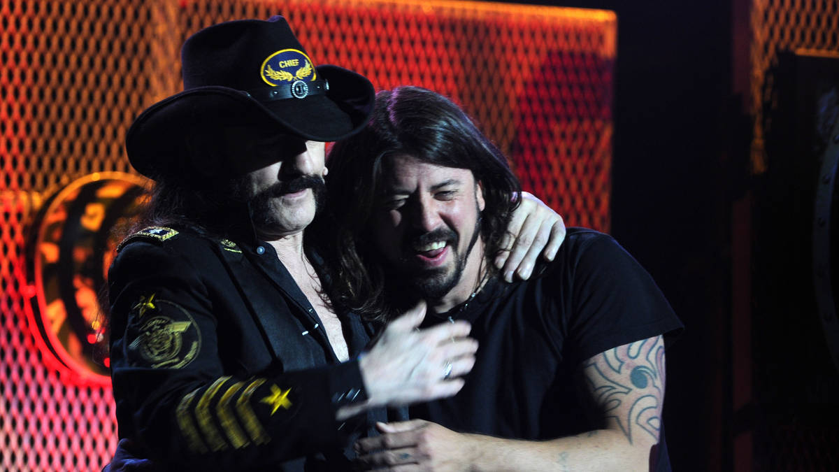 Foo Fighters' No Son Of Mine is homage to Motörhead's Lemmy