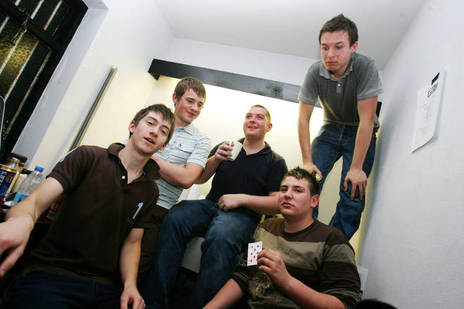 Arctic Monkeys in Barnsley, July 2005