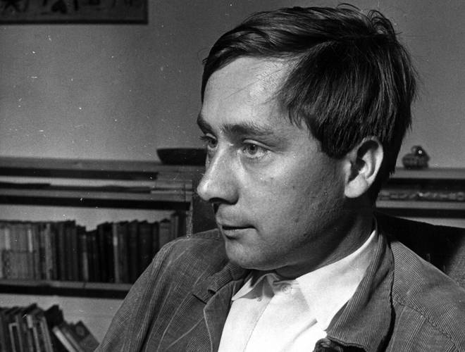 The man who came up with the famous line - author Alan Sillitoe, pictured in 1960