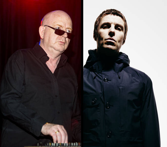 Alan McGee and Liam Gallagher
