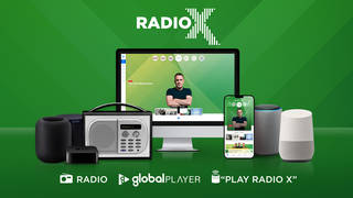 You can listen to Radio X across multiple platforms