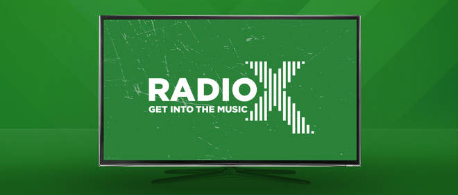 You can listen to Radio X through your TV