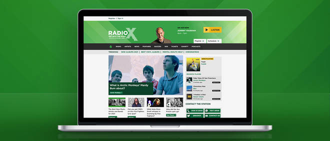 You can listen to Radio X online