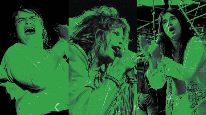 Meat Loaf, Steven Tyler of Aerosmith and Steve Perry of Journey: all good at belting out a power ballad or two