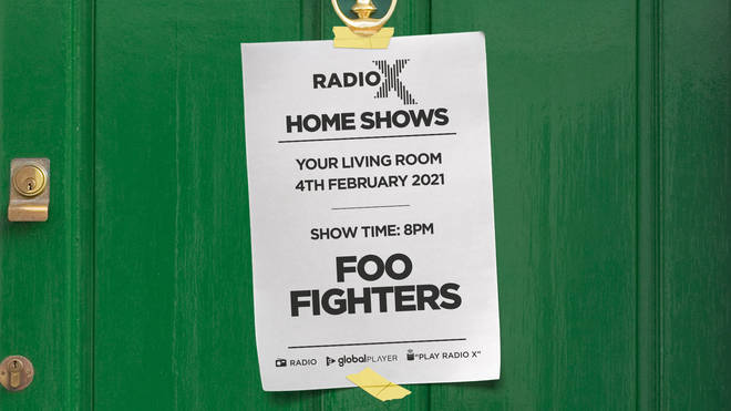 Listen to Foo Fighters live at Brixton Academy in 1997 in Radio X's Home Shows
