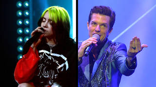 Billie Eilish and The Killers' Brandon Flowers