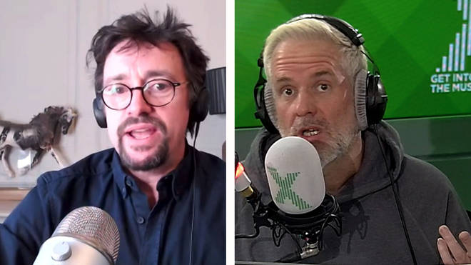 Chris Moyles pitches a new show to Richard Hammond