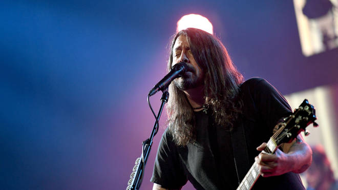 Dave Grohl at the 2021 iHeartRadio ALTer EGO Presented By Capital One - Show