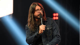 Foo Fighters frontman Dave Grohl at the  2021 iHeartRadio ALTer EGO Presented By Capital One - Show