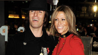Liam Gallagher and then-wife Nicole Appleton in 2021