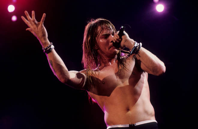 """Axl Rose of Guns N'Roses. Not generally known as """"Bill"""" to his friends"""