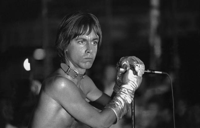 """Iggy Pop in 1970 - no longer known as """"Jim"""""""