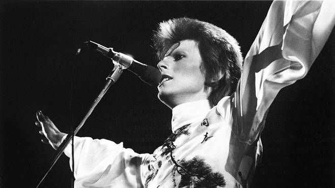 David Bowie in May 1973