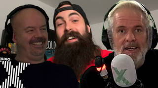 BeardMeatsFood appears on The Chris Moyles Show