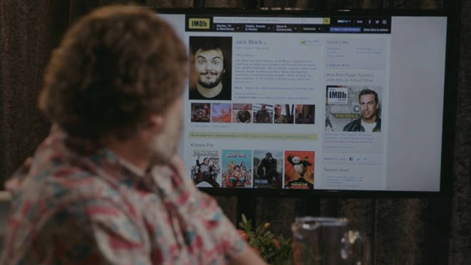 Jack Black reads through his IMDb profile