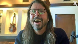 Dave Grohl talks to Chris Moyles, February 2021