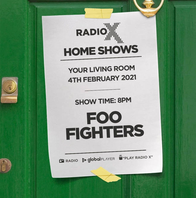 Radio X Foo Fighters Home Show