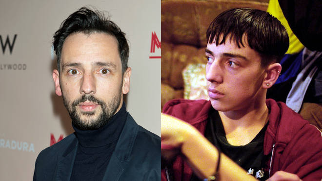 Ralf Little in The Royle Family and as himself in 2020