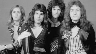 Queen in 1973: Roger Taylor, Freddie Mercury, Brian May and John Deacon