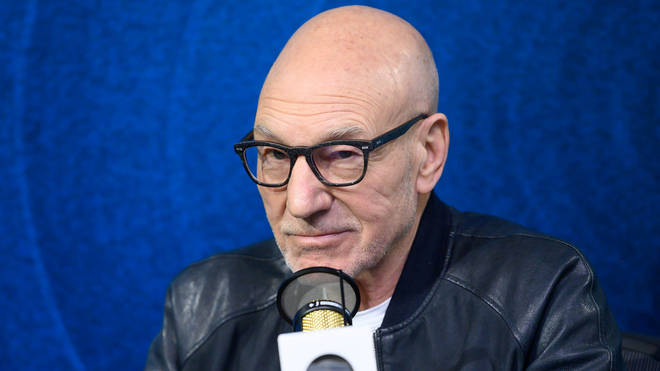 Sir Patrick Stewart in February 2020 - could he be the new GamesMaster?