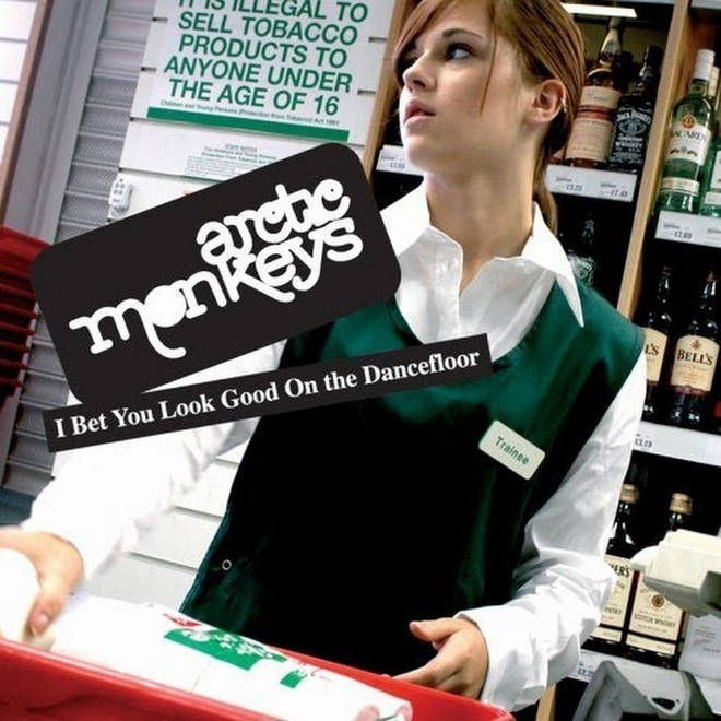 Arctic Monkeys I Bet You Look Good on the Dancefloor single cover