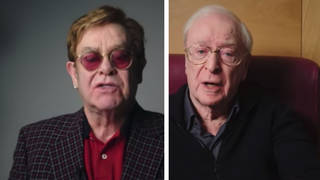 Elton John and Michael Caine appear in NHS advert