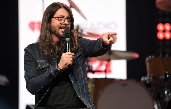 Foo Fighters' Dave Grohl at 2021 iHeartRadio ALTer EGO Presented By Capital One - Show