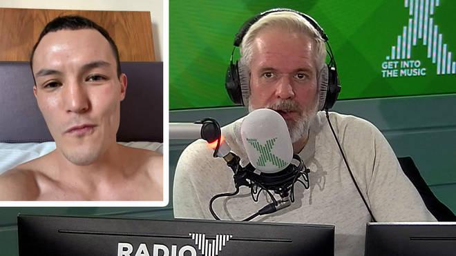 Josh Warrington talks to Chris Moyles about his pre-match routine
