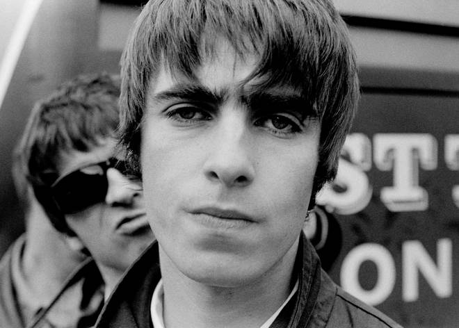 Oasis In Holland in 1994