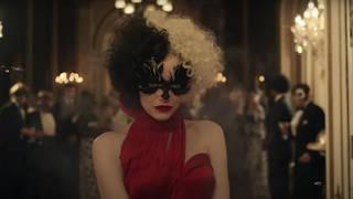 Emma Stone in the first trailer for Disney's Cruella
