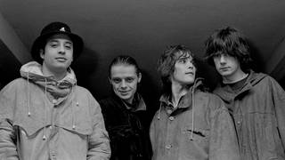 The Stone Roses at the time of their debut album: Reni, Mani, Ian Brown and John Squire