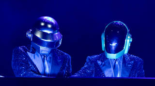 Daft Punk play the Lo Zoo di 105 concert