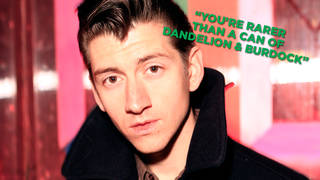 Alex Turner of Arctic Monkeys in 2013