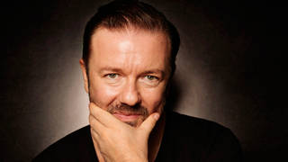 Ricky Gervais, the man behind David Brent