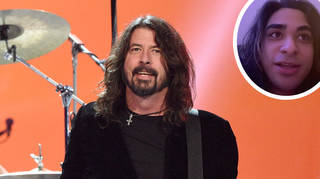 Foo Fighters' Dave Grohl with TikTok fan story dylanislucky