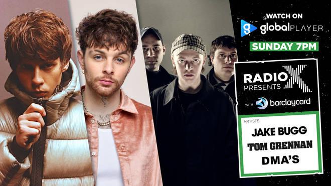 Radio X Presents Jake Bugg, Tom Grennan and DMA'S with Barclaycard