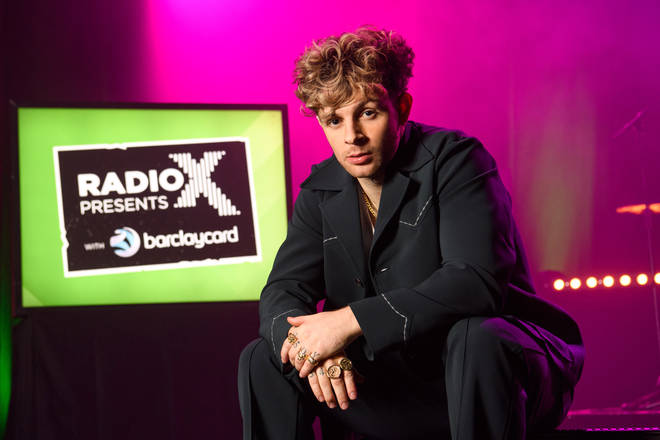 Tom Grennan at February's Radio X Presents show at the Clapham Grand