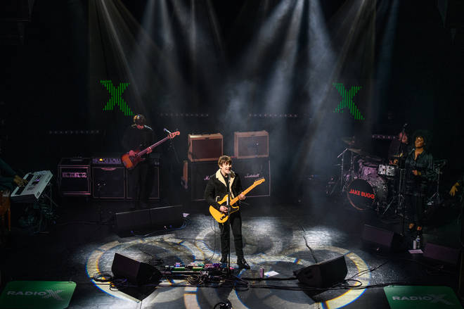 Jake Bugg onstage at the Clapham Grand, February 2021