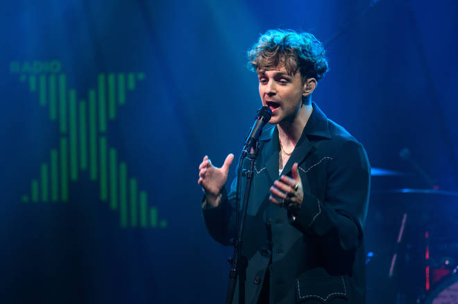 Tom Grennan performing at Radio X Presents with Barclaycard