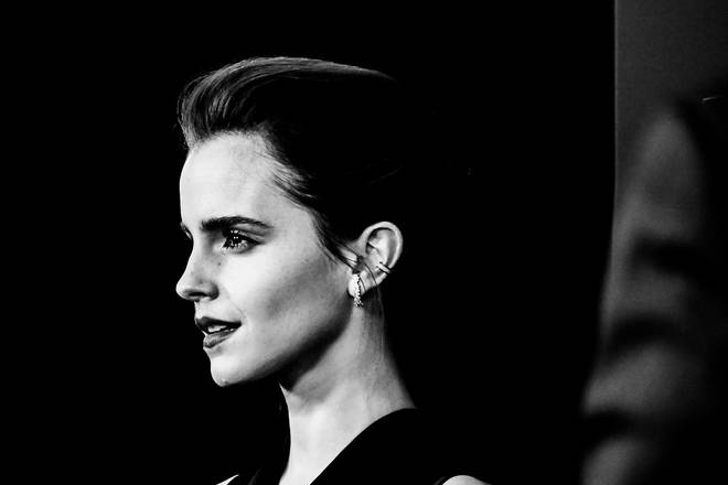 Emma Watson at the Beauty And The Beast New York Screening