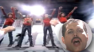 Queen's famous Radio Ga Ga video