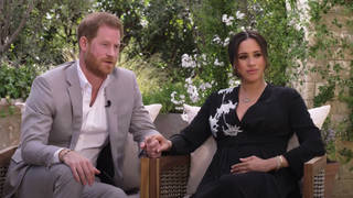 Prince Harry & Meghan Markle talk to Oprah Winfrey for CBS